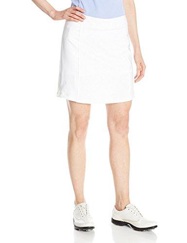 adidas Golf Women's Essentials Pure Motion Skort, White, X-Large
