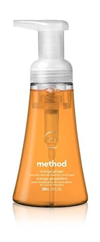 Method Foaming Hand Soap, Orange Ginger, 10 Fl Oz TEJ