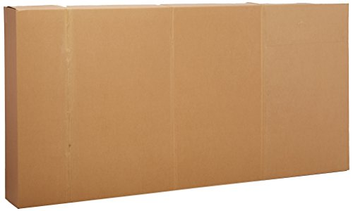 EcoBox 80 x 8 x 79 Inches Shipping/Moving Carton for Queen or King Size Mattress/Box Spring (E-2411)