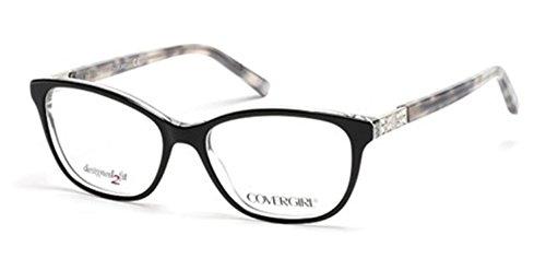 Eyeglasses Cover Girl CG 0458 003 black/crystal (Cover Girl Eyewear)