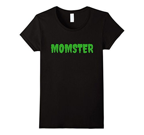 Womens Funny Mom Halloween Costume T-shirt ma mother mommy Large Black