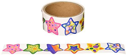 Funky Star Roll Stickers (1 roll) (4-Pack)]()