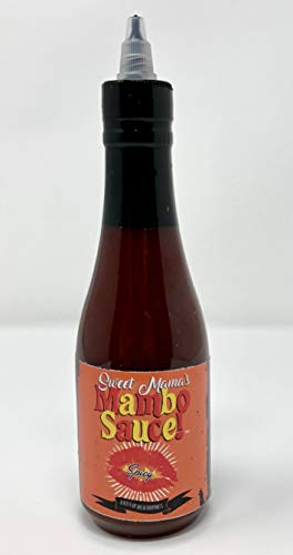 (Sweet Mama's Mambo Sauce- A Popular Washington D.C. Finishing Sauce for All of Your Meat, Poultry & Seafood Dishes 2 Bottles)