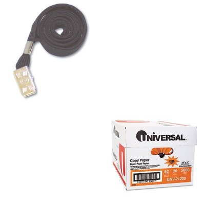 KITAVT75403UNV21200 - Value Kit - Advantus Deluxe Safety Lanyards (AVT75403) and Universal Copy Paper (UNV21200)