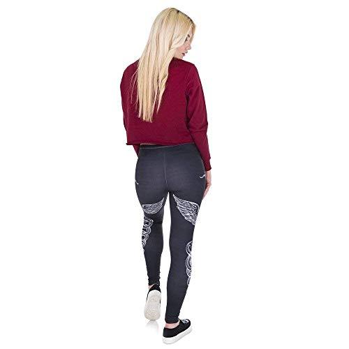 Hling Moda Pantaloni Yoga Da Legging 3d Stampa Alta Giovane Donna Legins Lga44027 Primavera A Leggings Vita Sword qIItBwxf