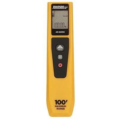 Johnson Level & Tool 40-6006 100-Feet Laser Distance Measure