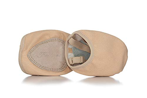 Lyrical Flow Canvas Closed-Toe Lyrical Shoes T8975TANS Tan Small