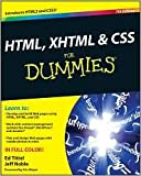 HTML, XHTML and CSS For Dummies 7th (seventh) edition Text Only