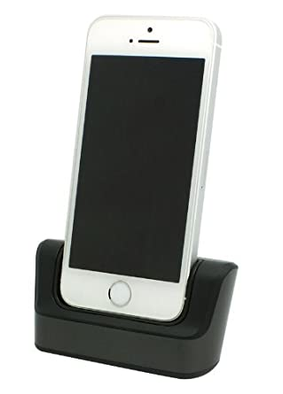 d86231363713ff USB desktop Sync Charge Cradle Dock Station Compatible Charger with Iphone  6 4.7 / iphone 6 4.7 inch with usb cable by pjp electronics®: Amazon.co.uk:  ...