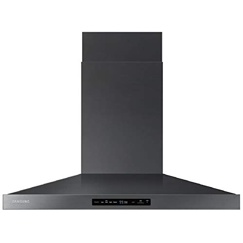 """Price comparison product image Samsung 36"""" Black Stainless Steel Wall Mount Hood"""