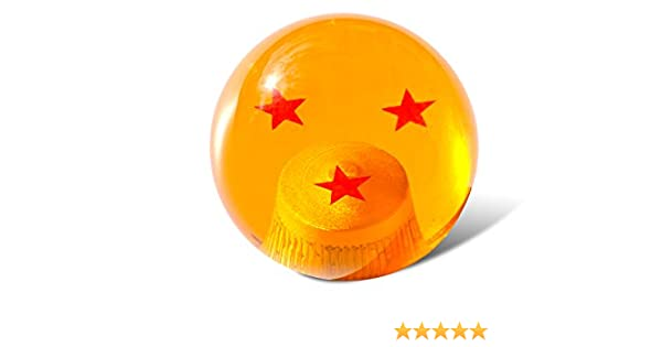 Rxmotor Dragon ball Z Star Manual Stick Shift Knob With Adapters Fits Most Cars 1-7 stars 1 STAR
