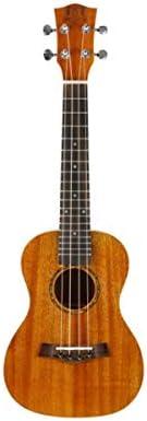 ウクレレ、S820ベニヤマホガニーウクレレ、ウクレレ、初心者ギター、ギター入力、楽器、小さなギター21インチ、26インチ (Color : Brown-21 inches)