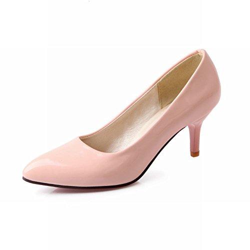 Kengät Carol Naisten Kengät Korkokenkiä Vaaleanpunainen Tuomioistuin Ytimekäs Tyylikäs Teräväkärkiset xYpHqzw