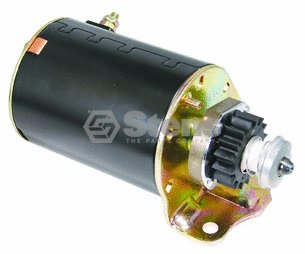 - Replacement Electric Starter For Briggs and Stratton # 394805 490420 494990 497595 497401 691262