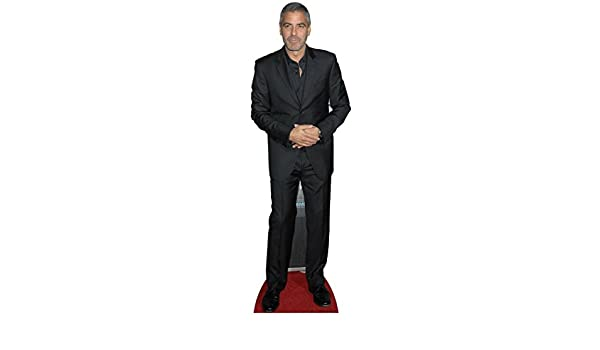 George Clooney Stand In Celebrity Cardboard Cutout Standee Photo Fun StandUp