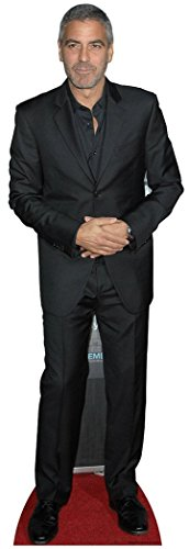 Star Cutouts, George Clooney Life-Size Cardboard Cutout Standee