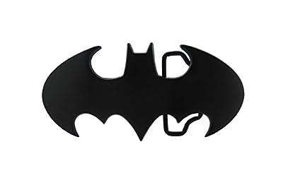 Bronze Batman Comic Superhero Symbol Belt Buckle (Black)