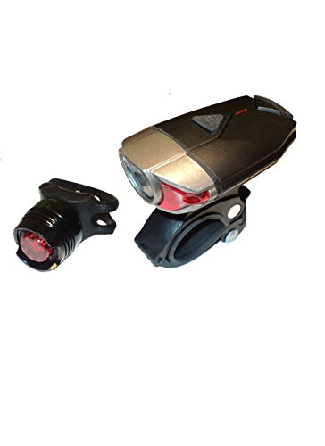 Cheap Blazing Lifestyle Rechargeable Bike Light – Bike Light Set – USB Rechargeable – Bike Lights Front and Back – Waterproof – with FREE Tail Light