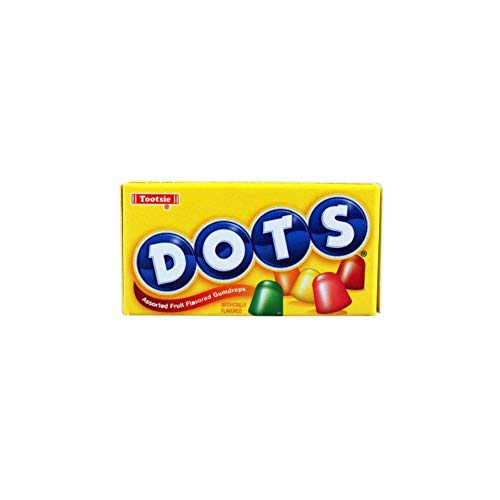 Dots Assorted Fruit Flavored Gumdrops - 6.5 oz. Theater Box (Pack of 4)]()