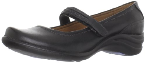 Hush Puppies Women's Epic Mary Slip-On Loafer,Black,8 M - Jane Leather Shoes Mary Dress
