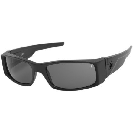 Spy Hielo Sunglasses - Polarized Matte Black/Grey, One - Spy Sunglasses Hielo