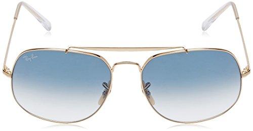 Blue Gafas Sol de Gradient Light Hombre Ray Marrón Ban para 0RB3561 zwE4a4