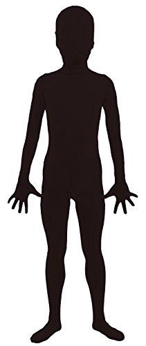 Black Skin Costumes (VSVO Kids Black 2nd Skin Full Body Zentai Supersuit Costumes (Medium, Black))