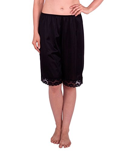 Under Moments Women's Classic Pettipants Bloomers w/Lace 15