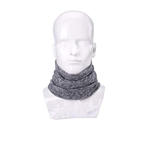 UHEREBUY Fleece Thermal Neck Warmer/Neck Gaiter Face Scarf/Winter Motorcycle Ski Face Mask - Cold Weather Ultimate Balaclava Half Mask (Scarf Neck Warmer)