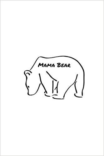 Mama Bear Composition Notebook For Mothers Day College