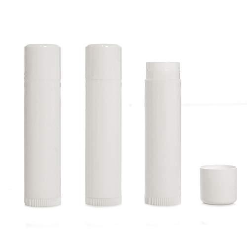 Milliard Lip Balm Crafting Tube Refills - 100 Pack - White