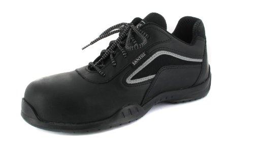 SALE - SANTOS - Sicherheits-Halbschuh S3 - Schwarz Schuhe in Übergrößen