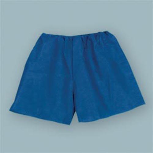 Exam Shorts, Non-Woven, Medium 28''-34'', Dark Blue 25 pk by Tidi Products, LLC