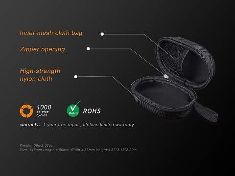 Stirnlampenaufbewahrungsbox FENIX APB-20 Headlamp Storage Bage//Stirnlampenverstautasche