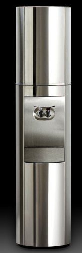 Triple S2 Free-Standing Cold and Room Temperature Water Cooler Finish: Stainless Steel by Aquaverve Water Coolers