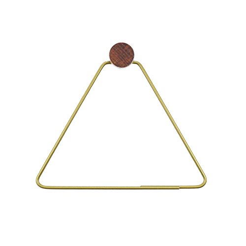 Nordic Triangle Tissue Holder Modern Paper Towel Ring Bathro