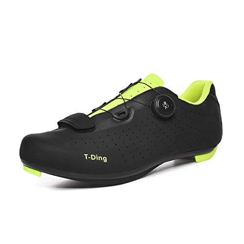 DEAR-JY Cycling Shoes,Adults Professional Road Non-Slip Breathable Mountain Bike Bicycle Shoes,Very Rigid And…