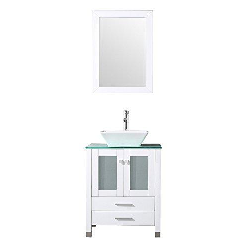 24' Bathroom Vanity Set - Sliverylake 24