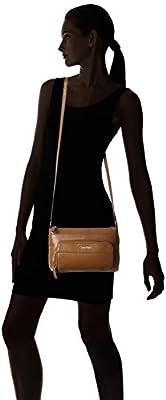 Calvin Klein Pebble Leather Cross-Body Bag