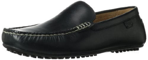 Polo Ralph Lauren Men's Woodley Slip-On Loafer,Black,10 D US (Polo Mens Leather)