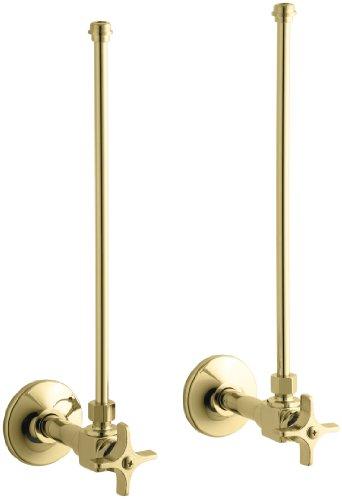 Polished Brass Angle Supply - 7