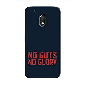 Cover It Up - No Guts, No Glory Moto G4 Play Hard Case