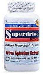 Superdrine RX-10 Maximum Force 120 caps