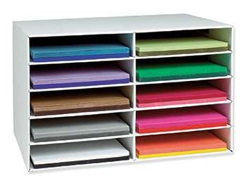 Classroom Keepers Construction Paper Storage 12 X 18 By Pacon Corporation from Pacon