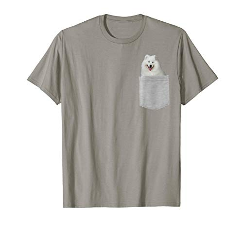Dog in Your Pocket Samoyed t shirt shirt ()