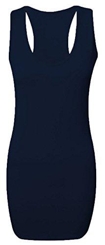 RIDDLEDWITHSTYLE - Camiseta sin mangas - para mujer azul marino