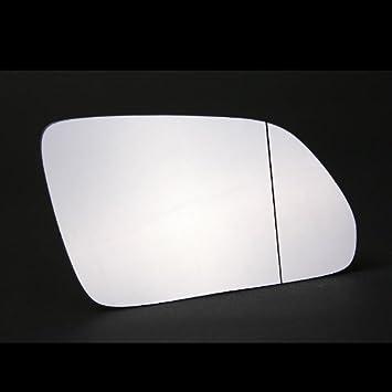 Driver Side Bipper Wing Mirror Glass-Silver,RH