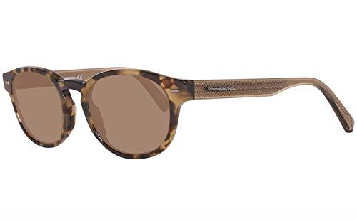 Ermenegildo Zegna EZ0029 - 55M Sunglasses Colored Havana Frame  w/ Brown Lens   51mm from Ermenegildo Zegna