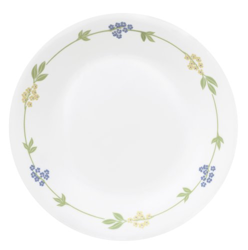 Corelle Livingware 6-3/4-Inch Bread and Butter Plate, Secret - Corelle Butter Bread Plate