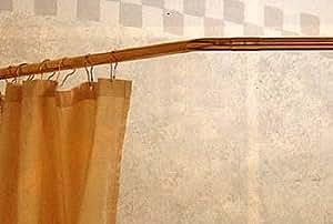 45 Degree Shower Rod - Lacq. Brass -
